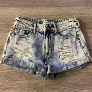 Bullhead Acid Wash Jean Shorts